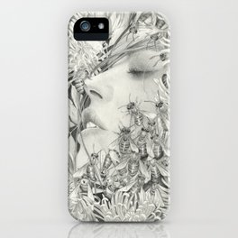 Apiphobia - Fear of Bees iPhone Case