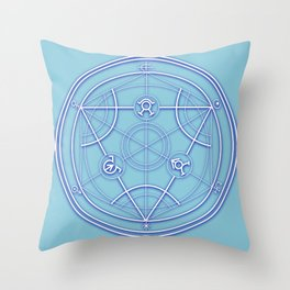 Transmutation Circle Throw Pillow