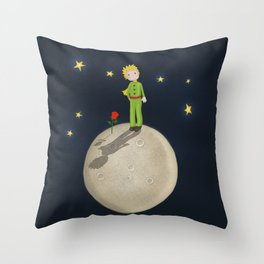 The Little Prince Throw Pillow