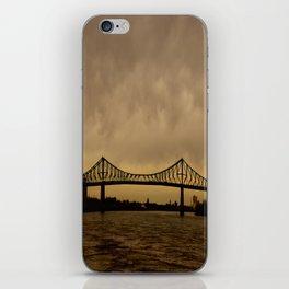 Pont JacquesCartier iPhone Skin