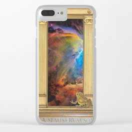 Godspeed Stephen Hawking Clear iPhone Case