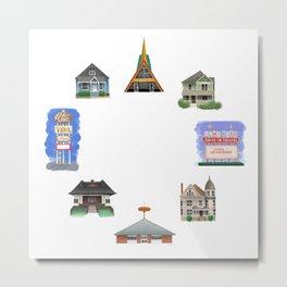 Places of Warren - Warren Ohio 100 Metal Print