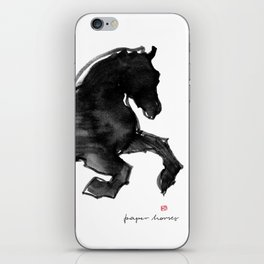 Horse (Devil cantering) iPhone Skin