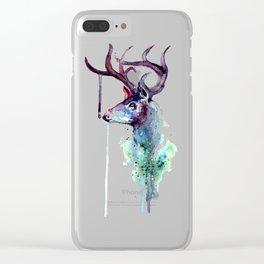 Me Deer Clear iPhone Case