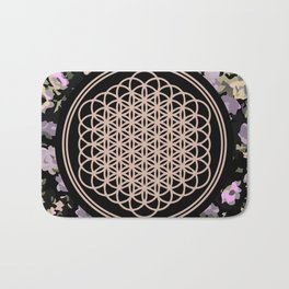 This Is Sempi-floral Bath Mat