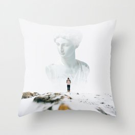 Definitive Throw Pillow
