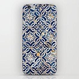 Portuguese glazed tiles iPhone Skin