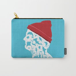 The Life Aquatic art movie inspired Carry-All Pouch
