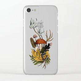 Autumnal Scene Clear iPhone Case