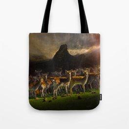 Group of deer Tote Bag