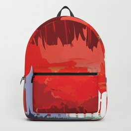 Kepler-186 : NASA Retro Solar System Travel Posters Backpack
