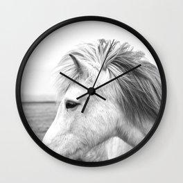 White Horse Wall Clock
