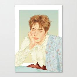 poetic beauty [jaehyun nct] Canvas Print