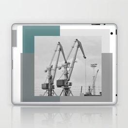 Giraffe crane Laptop & iPad Skin
