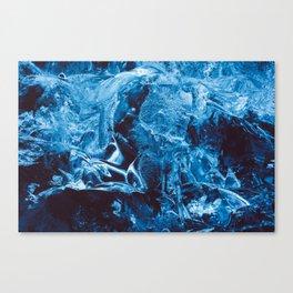 Glacier Blue Canvas Print