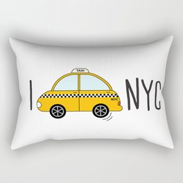 I love NYC Rectangular Pillow