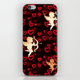 Cupids and Hearts iPhone Skin