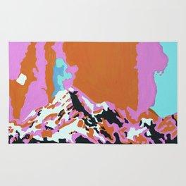 Liquid Sunshine In The Mountains Rug