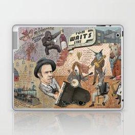 Tom Waits' Melodramatic Nocturnal Scene Laptop & iPad Skin