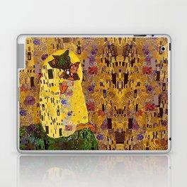 Kiss Klimt Cats Laptop & iPad Skin