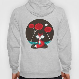 About a red fox Hoodie