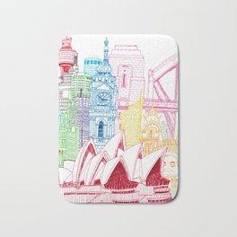 Sydney Towers Bath Mat