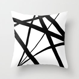 Black White Throw Pillows For Any Room Or Decor Style Society6