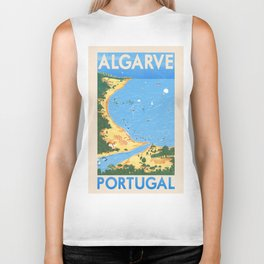 Travel Posters - Algarve Biker Tank