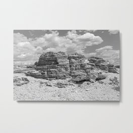 Mountain We Rise Metal Print