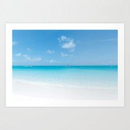 Perfect Beach Art Print