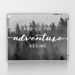 And So The Adventure Begins III Laptop & iPad Skin