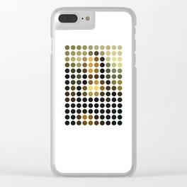 Mona Lisa Clear iPhone Case