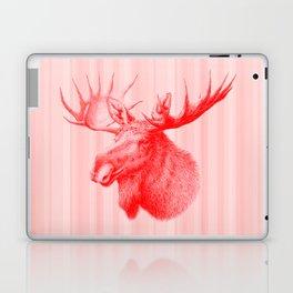 Moose red Laptop & iPad Skin