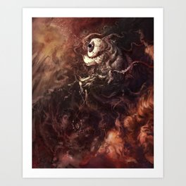 Star Eater Dark Art Print
