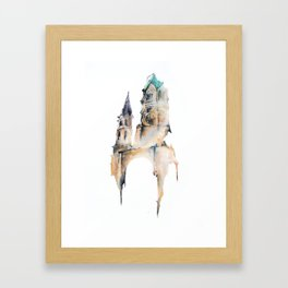 Wilhelm Kaiser Church Framed Art Print
