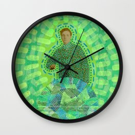 Lime Man Wall Clock