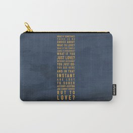 No Choice Carry-All Pouch
