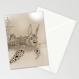 Shell Back Stationery Cards