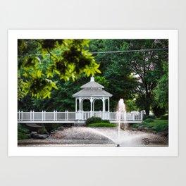 Winnwood Park Art Print
