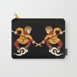 Monkey King - the real and the impersonator Carry-All Pouch