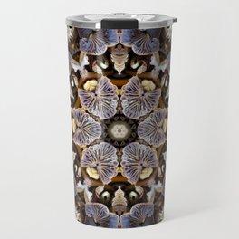Mushroom Mandala 2 Travel Mug