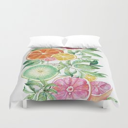 Citrus Fruit Duvet Cover