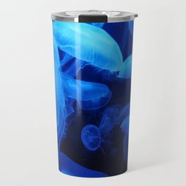 Blue Jellyfish III Travel Mug