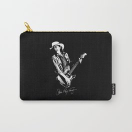 Stevie Ray Vaughan - Guitar-Blues-Rock-legend Carry-All Pouch