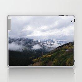 Foggy Fall Days Laptop & iPad Skin