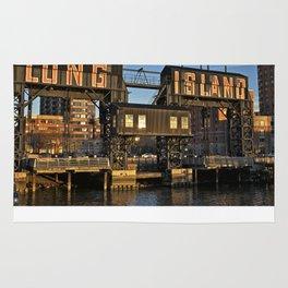 Gantry Plaza State Park, Long Island - New York Rug