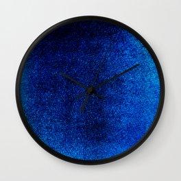 Sapphire Sea Wall Clock