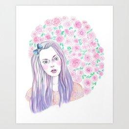 self portrait 2 Art Print