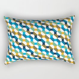 People's Flag of Milwaukee Mod Pattern Rectangular Pillow