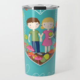 Terrarium For Two Travel Mug